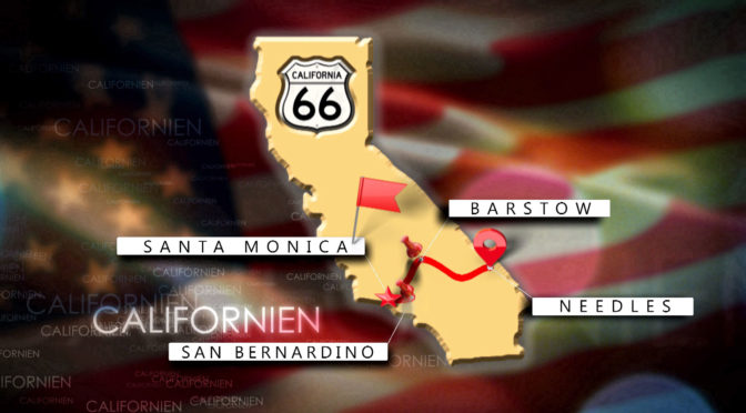 Route 66 in Californien
