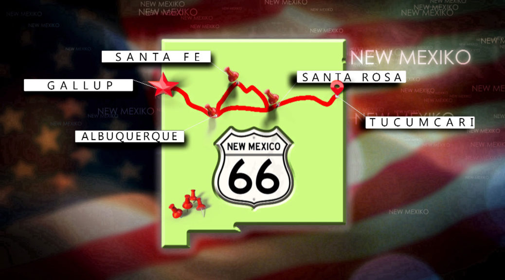 Route 66 in New Mexiko