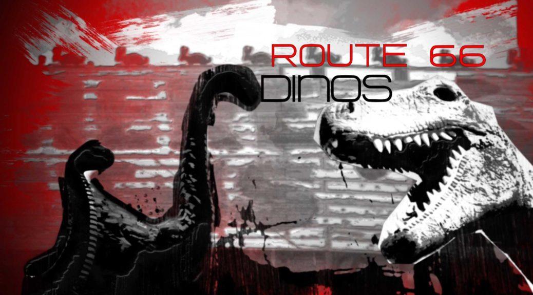 Dinosaurier Land an der Route 66