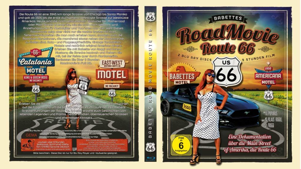 Route 66 Blu-Ray Dokumentation