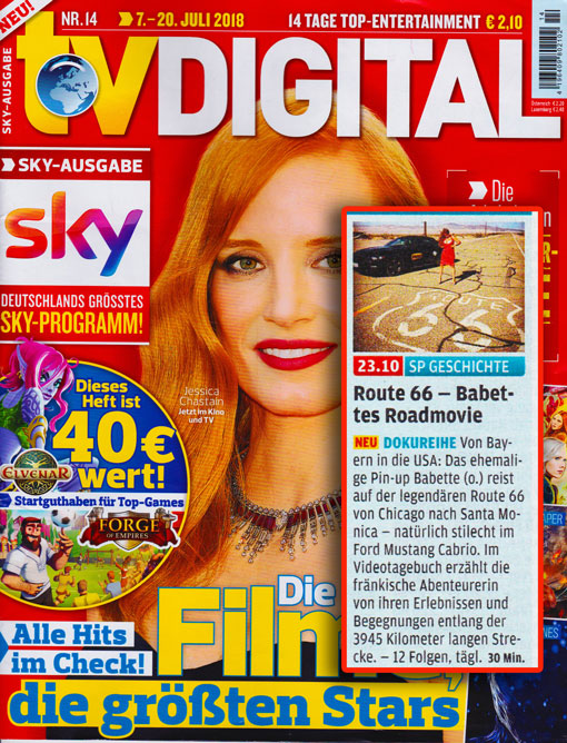 TV-Digital-Spiegel TV Route 66 Dokumentation