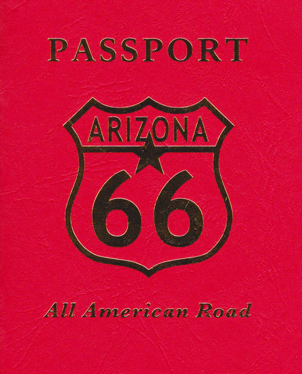 Route-66-Reisepass Arizona