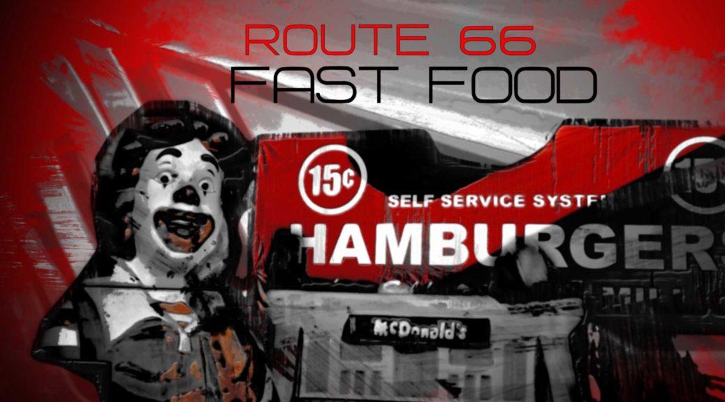 Fast Food/Mc Donalds Story