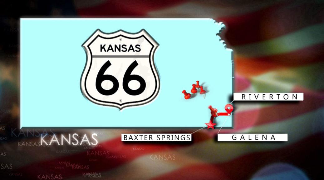 Route 66 in Kansas