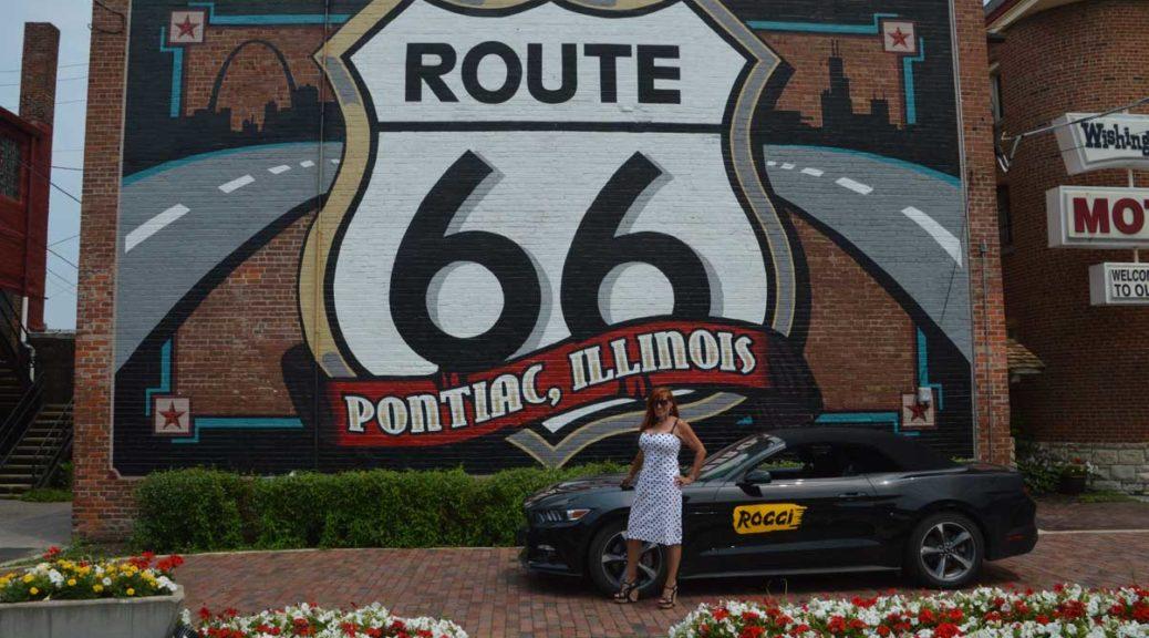 Route 66 Museum in Pontiac